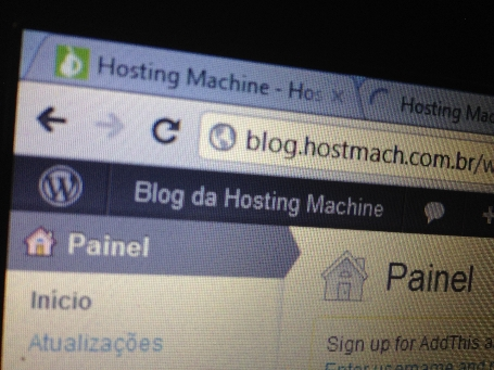 Blog Hosting Machine WordPress